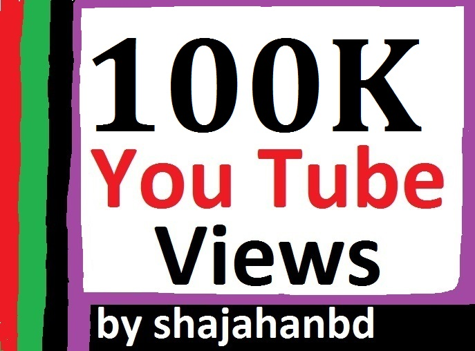 100,000 Or 100K High Retention YouTube Views Non Drop + 1050 Extra Bonus Likes To Your Video