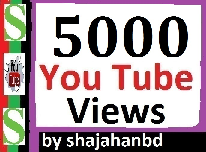 5000 To 6000 High Quality Youtube Views Non Drop Super Fast Delivery