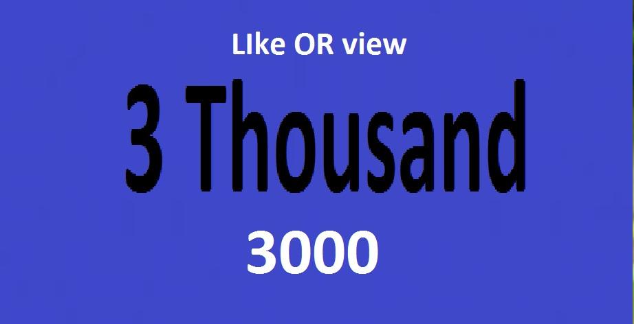 15k Lik OR 50k videooo viewwww