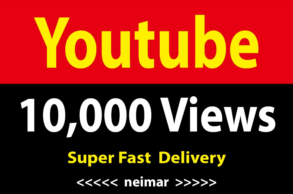instant 10,000 / 10k Vieews Non Drop Lifetime Guarantee Fast Delivery