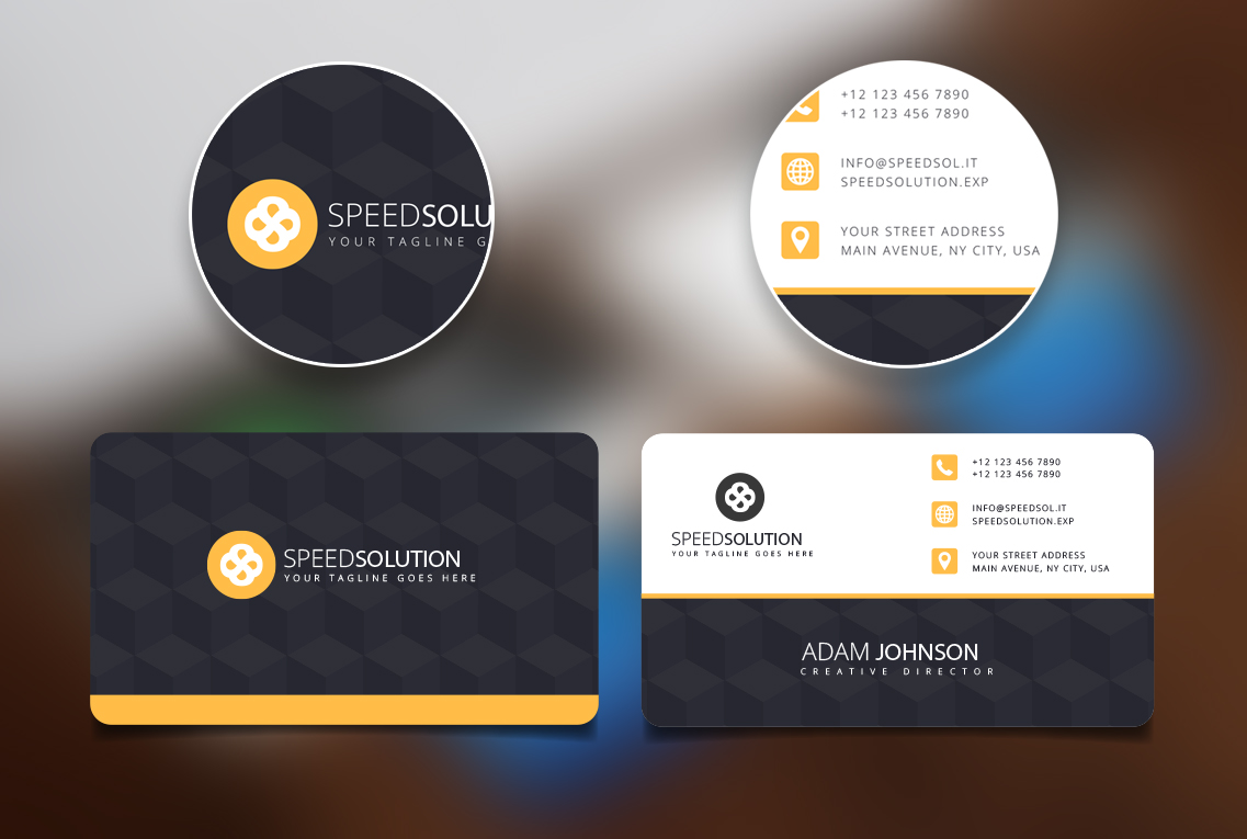 I will create an amazing and unique business card for your business
