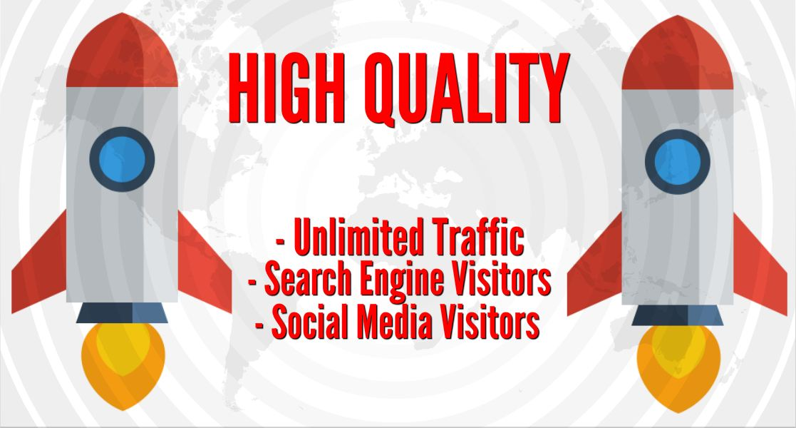 PREMIUM SEO TRAFFIC with Search Engine and Social Med...
