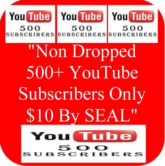 Genuine & Lifetime Guaranteed Non Dropped 500+ Real USA Basic YouTube Subscribers or 1000+ YouTube Likes