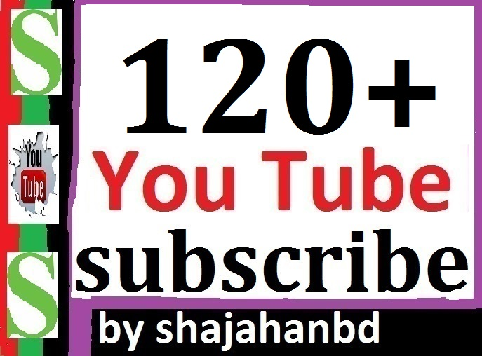 120+ YouTube Subscribers Non Drop Guarantee