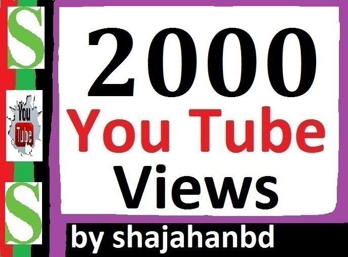 2000+ High Retention Views 12/24 Hours In Complete