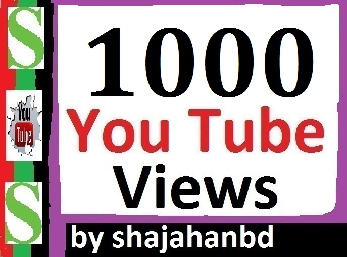 Instant 1000 To 1500 Youtube Views Non Drop To Your Video