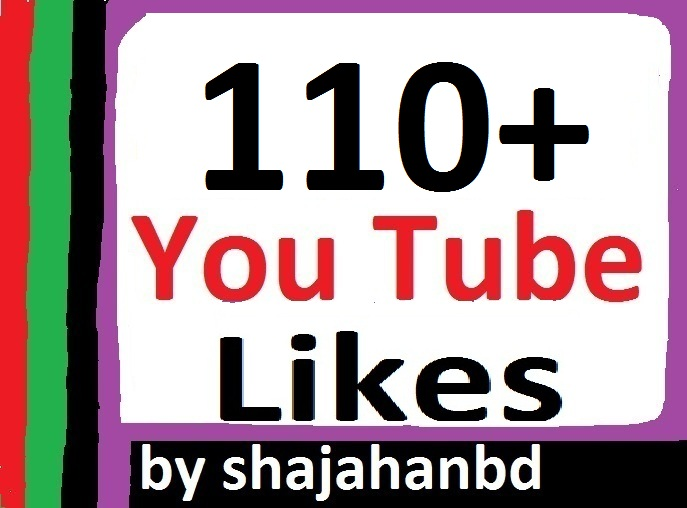 110+ Real Youtube Likes 2-3 Hours in complete