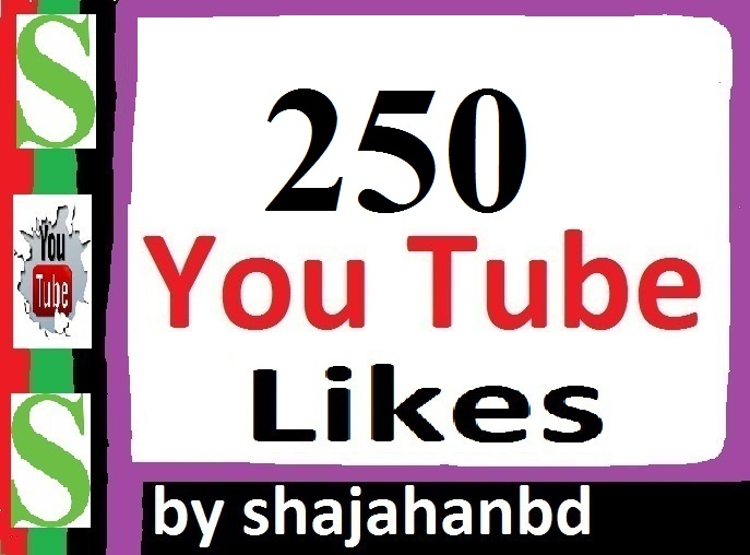 250+ Real Youtube Likes 2-3 Hours in complete