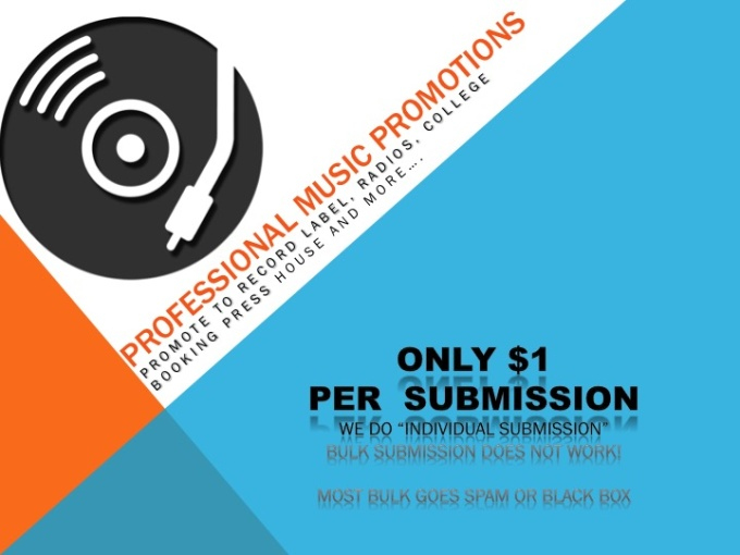 do music promotions radio,press, college