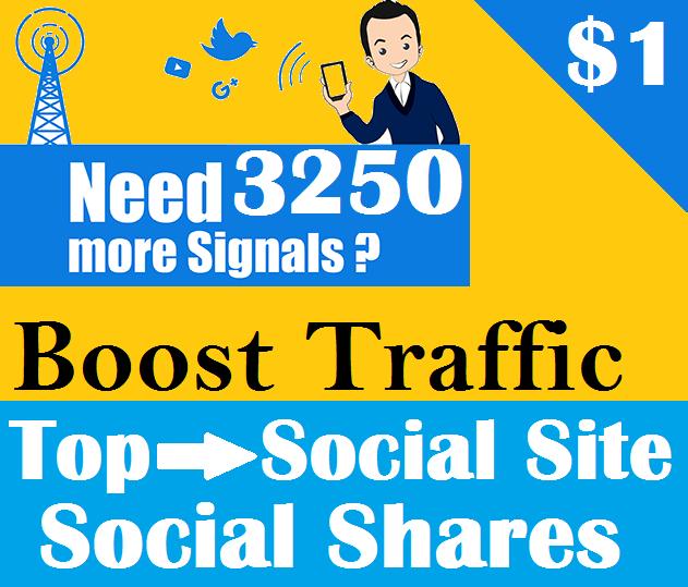 Top 5 Social Platform 3250 PR9 Social Signals Important SEO Ranking Factors