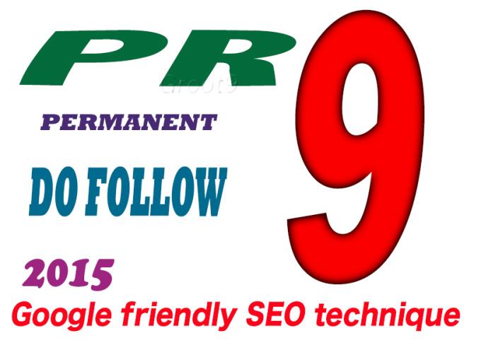 I will manually do 30 PR9 High Pr Backlinks DOFOLLOW 2015 safe Seo
