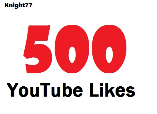 Get 500 YouTube LIKES to your VIDEO