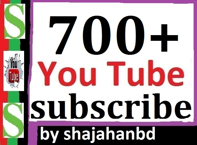 700+ Real YouTube Subscribers Non Drop Guarantee