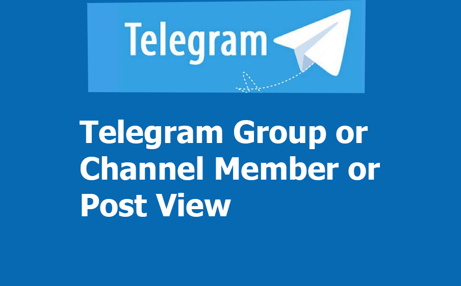 Non Drop high quality 530+ Telegram Channel Member or Post view-s for your channel or post