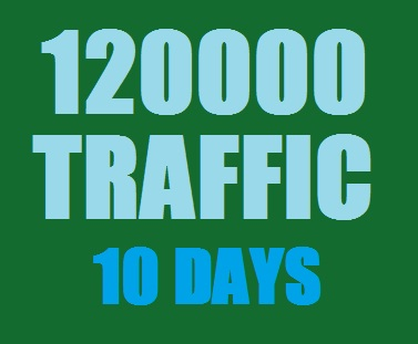 Get Real 120000 Web Traffic in 15 Days