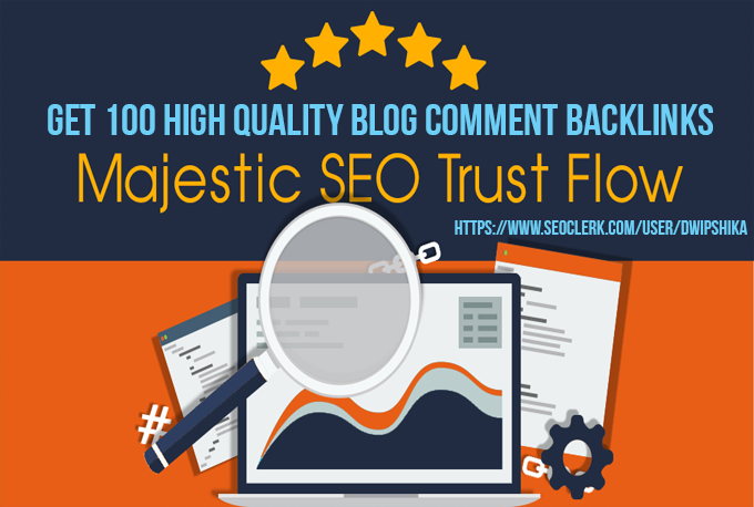 I will provide you 100 High Trust Flow,  Citation Flow and Unique Domain Backlinks with high DA PA