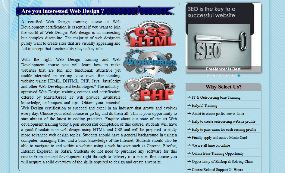 I will give u high quality website design