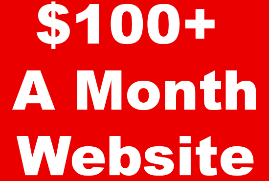 Build A 100 Per Month Adsense Website