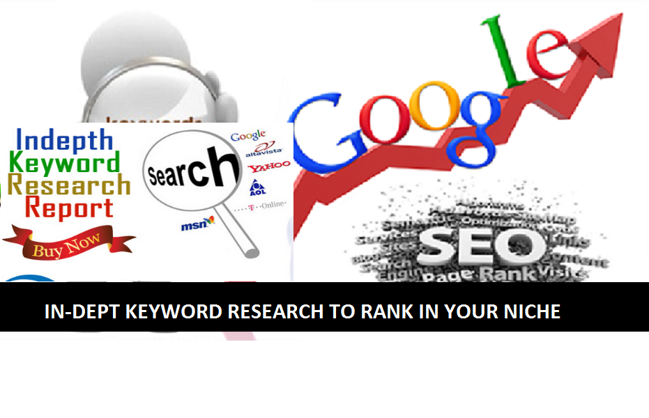 I Will Do In-dept SEO Keyword Research For Your Niche