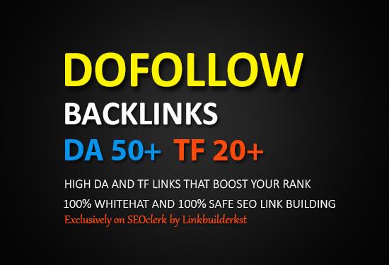 50 PR9 Dofollow Backlinks Form High Authority Domains