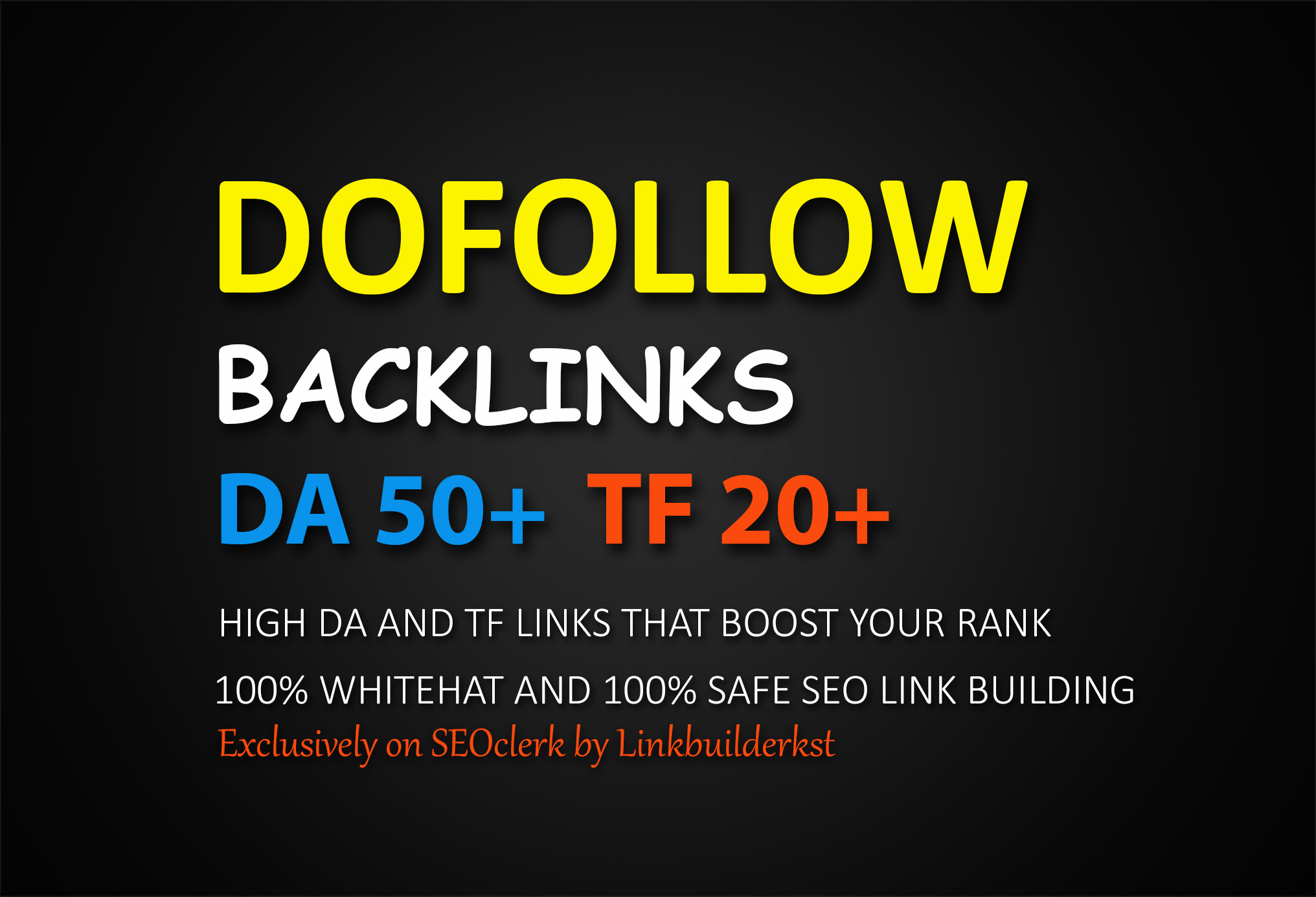 50 Permanent Dofollow Backlinks From High Authority Domains
