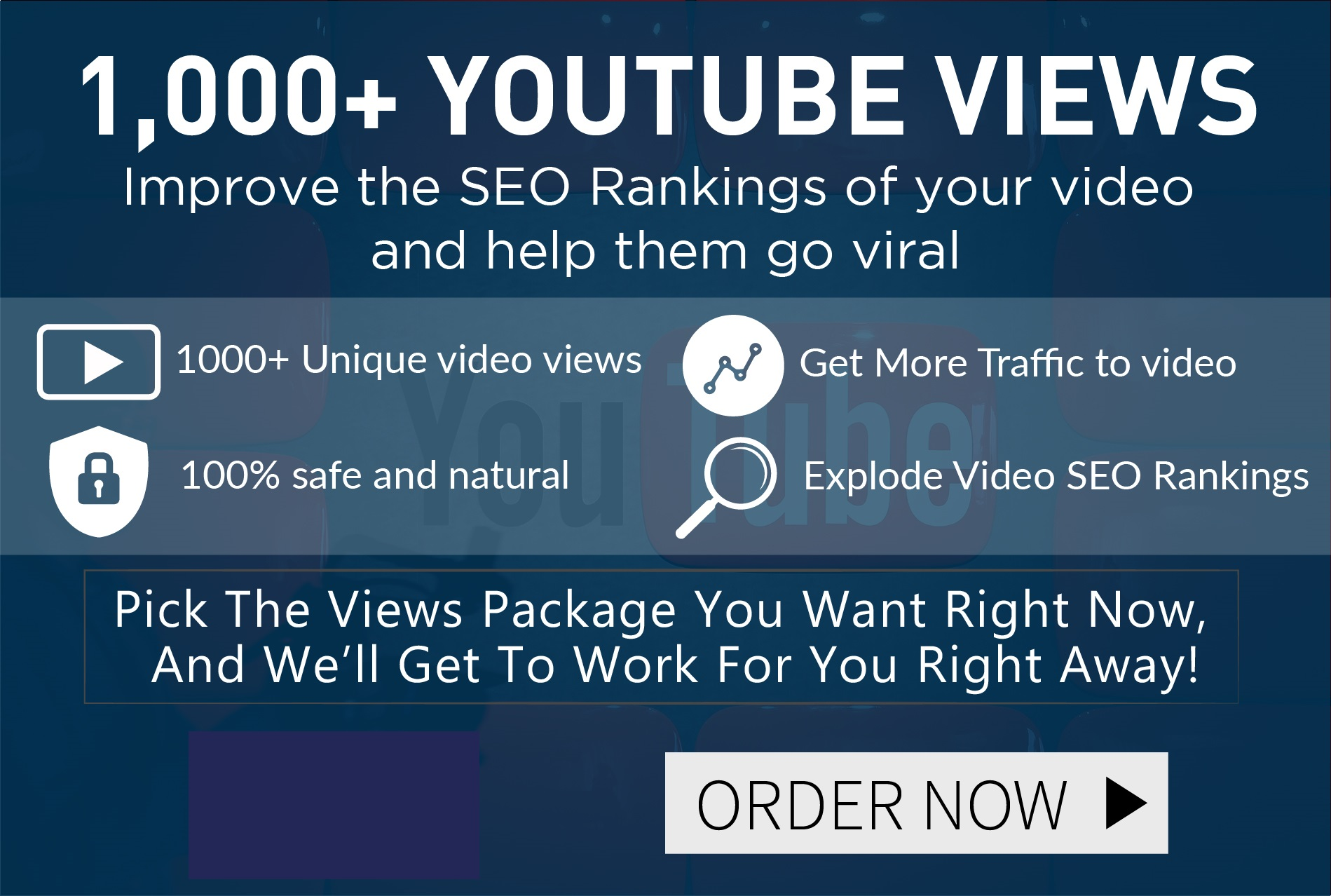 Blast Your Video To The Top of Google and Youtube With 1000 FAST Views