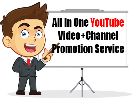 All in One YouTube Promotion Service Get Your Message Across