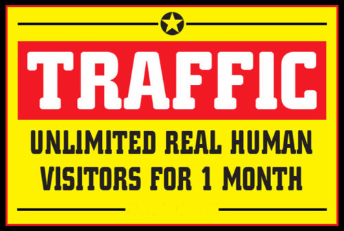 *Targeted: USA Only* UNLIMITED Website TRAFFIC for 37 Days - No Limits!