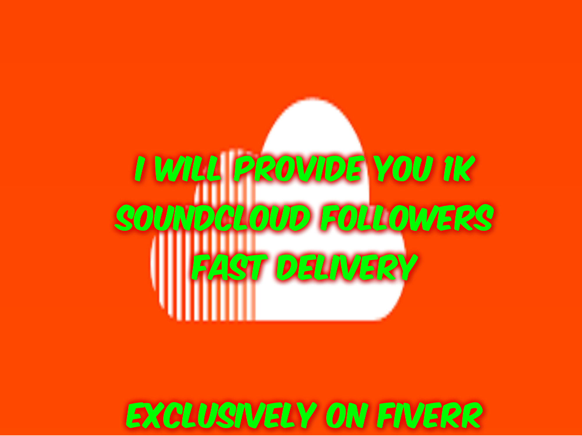 I will provide you 1000 soundcluod followers asap