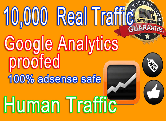 Adsense safe 10,000 Social networks traffic