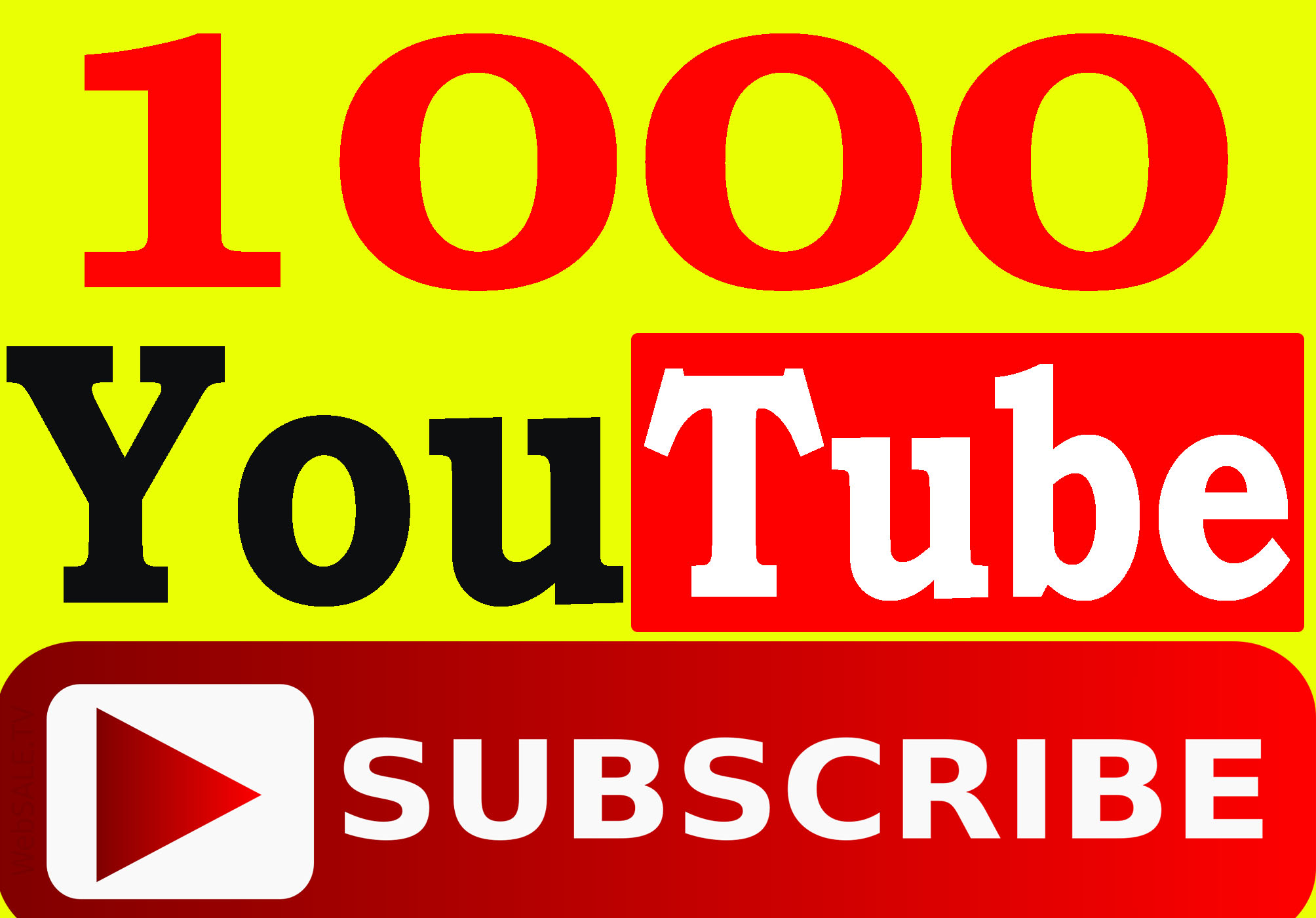 Extremely Fast 1000+ YouTube Subscribers lifetime refill guarantee