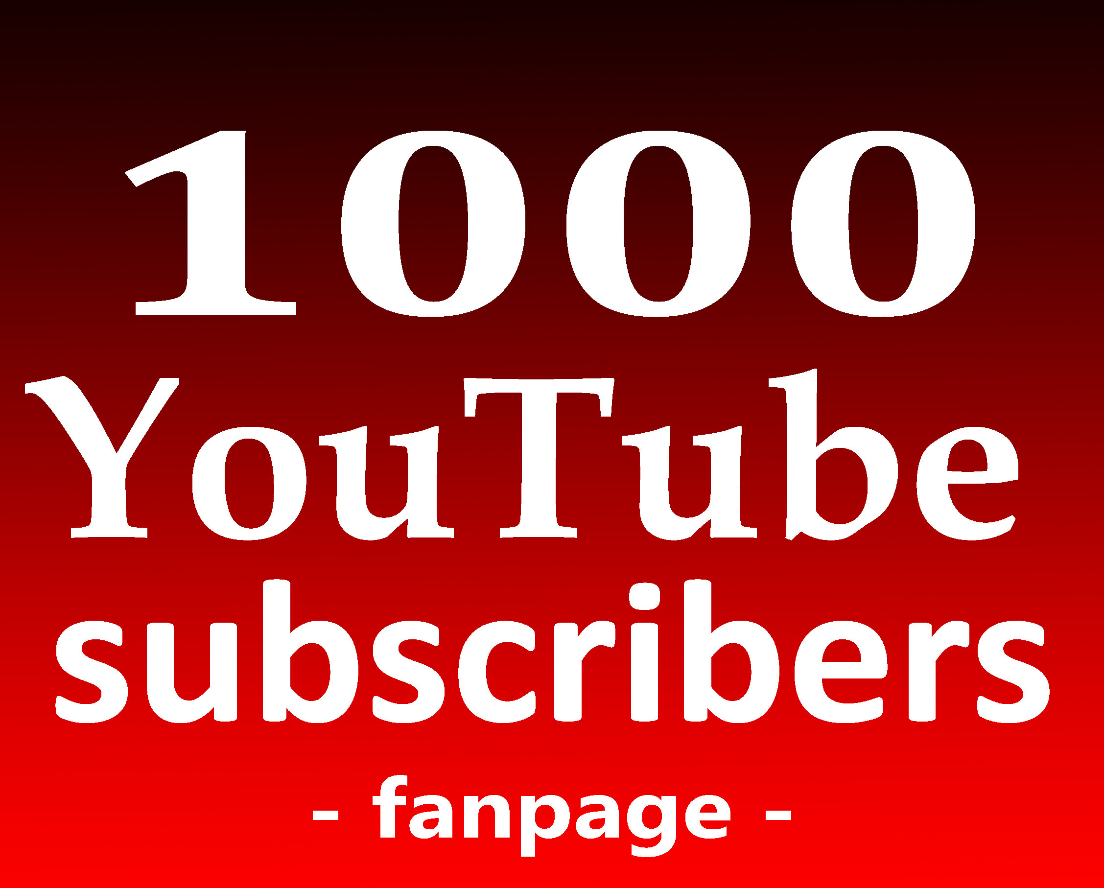 Fast 1000+ Subs High Quality Non Drop and Safe Service Guarantee
