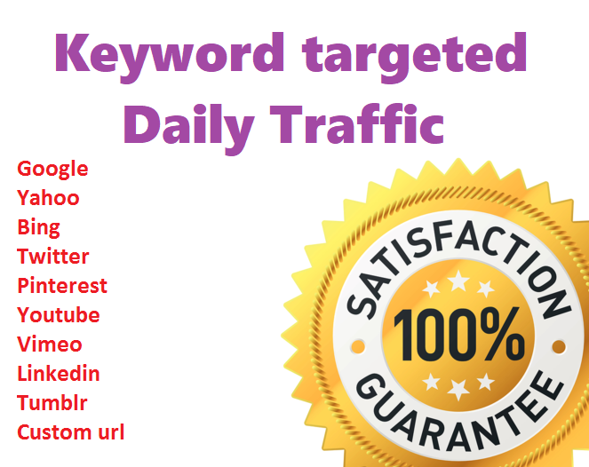 Send 200+ Daily USA Keyword Targeted Traffic For 20 Days. Limited Time Offer Grab It Now!