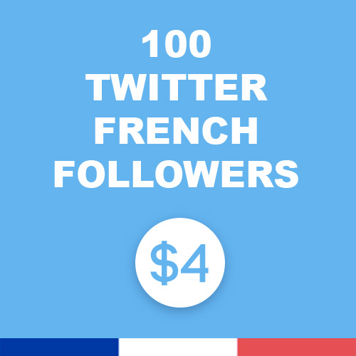 100 Twitter french f.ollowers