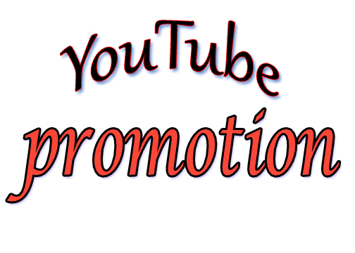 We will do YouTube promotion