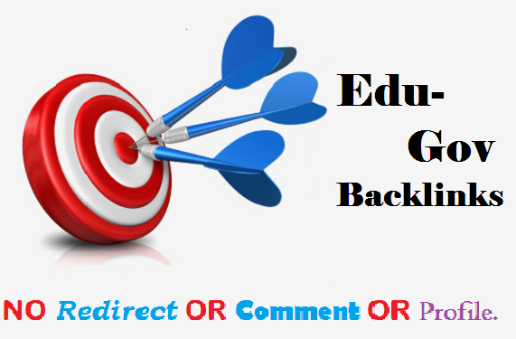 I will manually build 25 high quality edu and gov seo backlinks