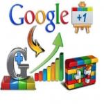 40 Google+1 share/ circle