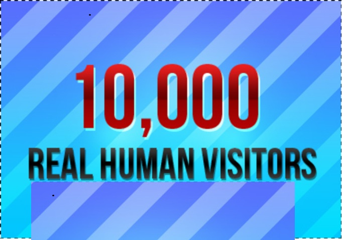 10,000 Real Human Worldwide Visitors To Your website