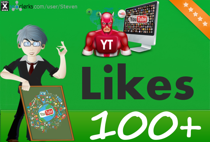 Add 100 YouTube Likes to your video