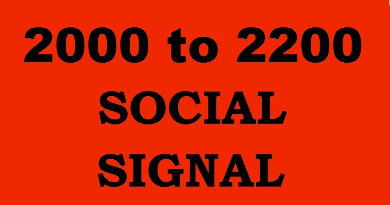 2000 to 2200 Powerful Social Signal from 5 Best PR 10 Sites