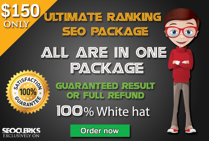 Offer Ultimate Ranking Seo Solution + high Quality blog comments backlinks + Guaranteed Serp