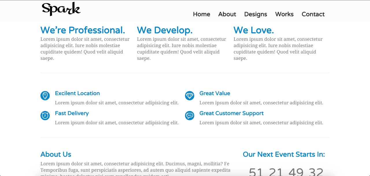 SPARK - Multi-Purpose HTML Template