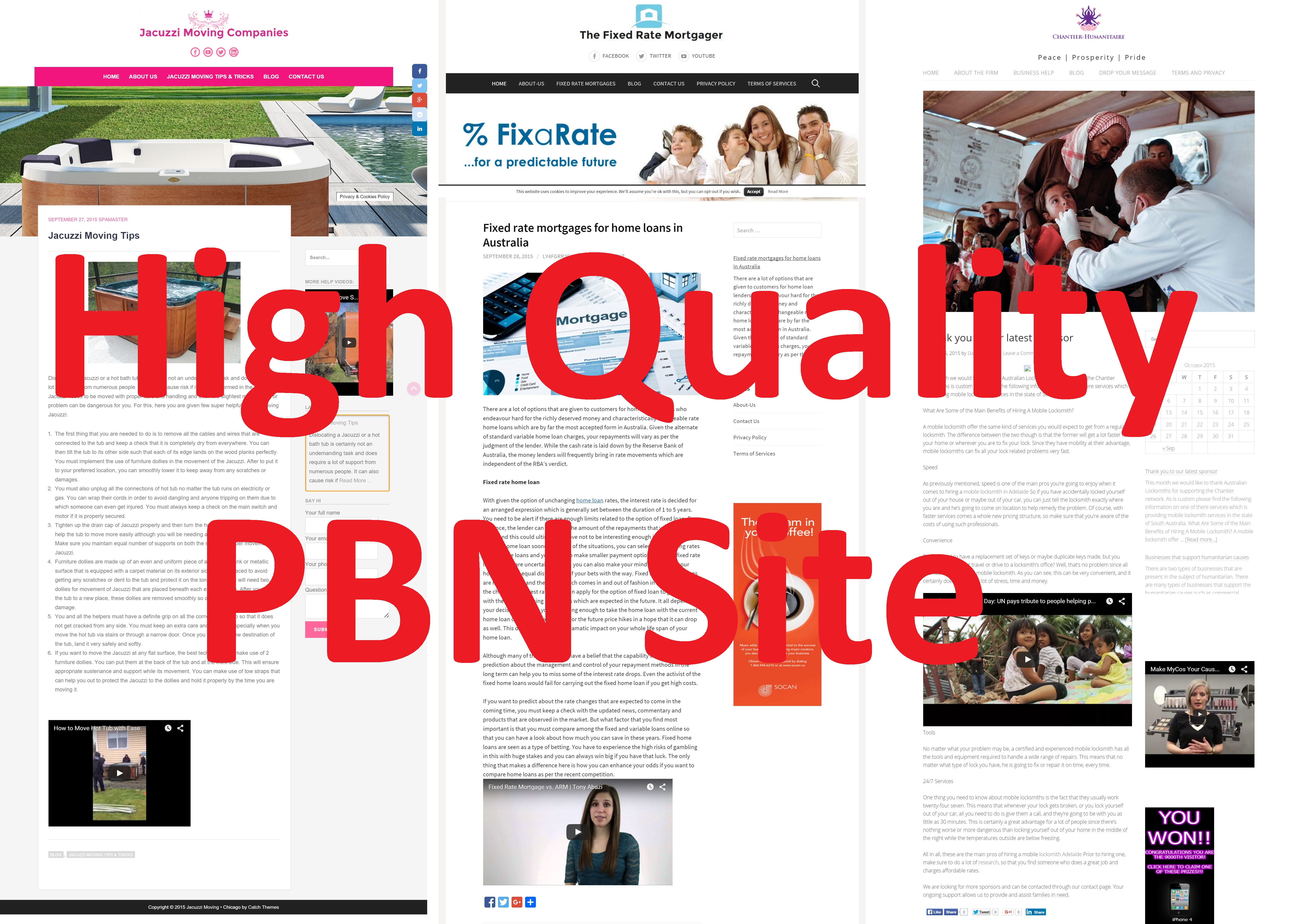 I will create a high quality PBN site