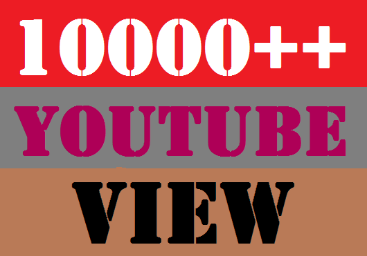 I WILL ADD 10000 YOU TUBE VIDEO VIEWS AND 20 LIKES SERVICE YOUR ACCOUNT