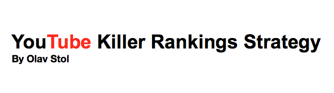 Get Your Youtube Video Ranked Number 1 On Google And ... eBook