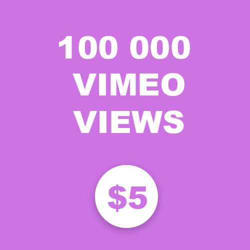 100 000 Vimeo Views Targeted country
