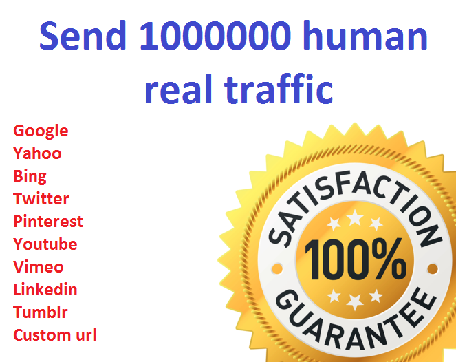 1,000,000+ Keyword Targeted GOOGLE traffic Real human...