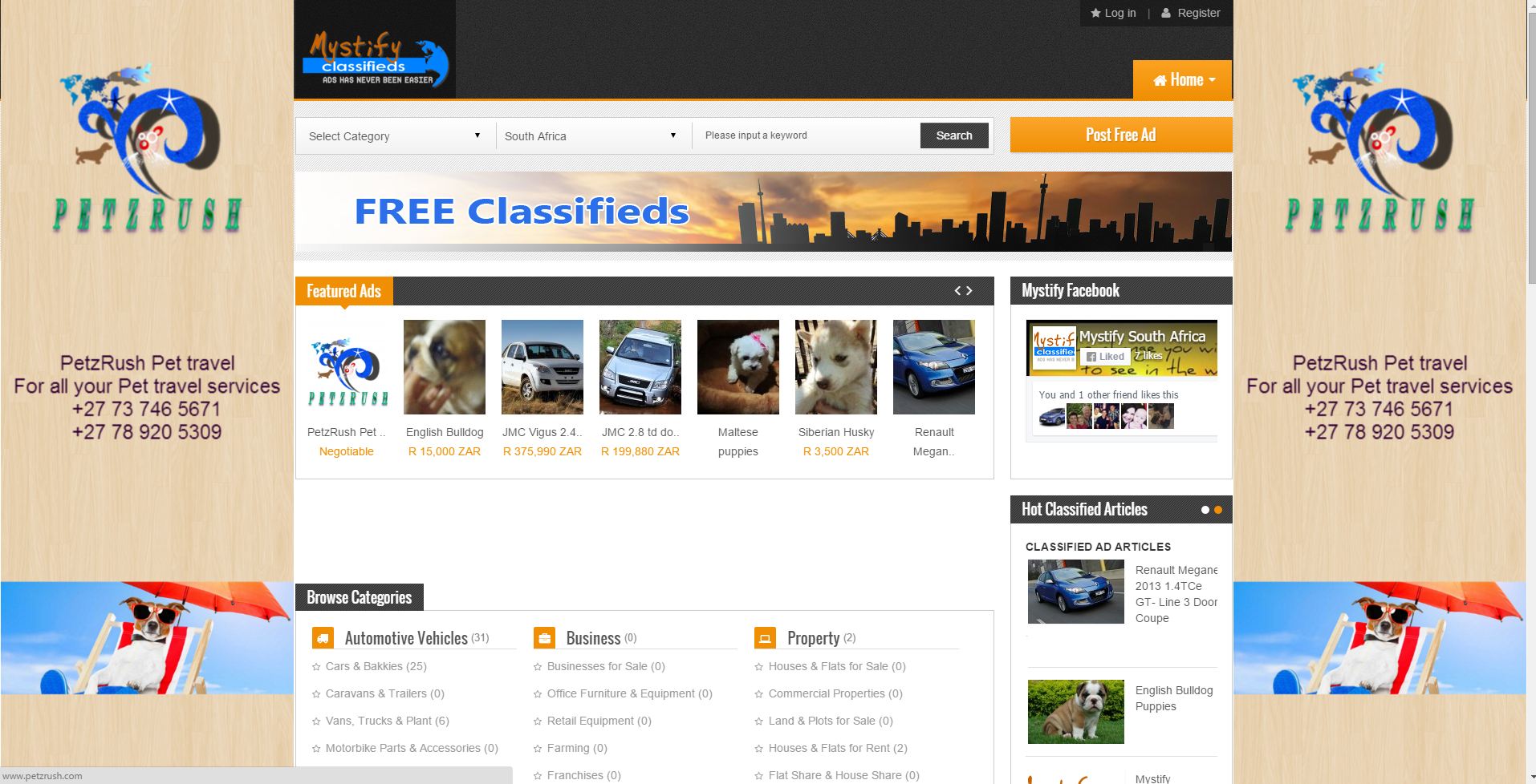 I will advertise your website OR banner on 3 websites