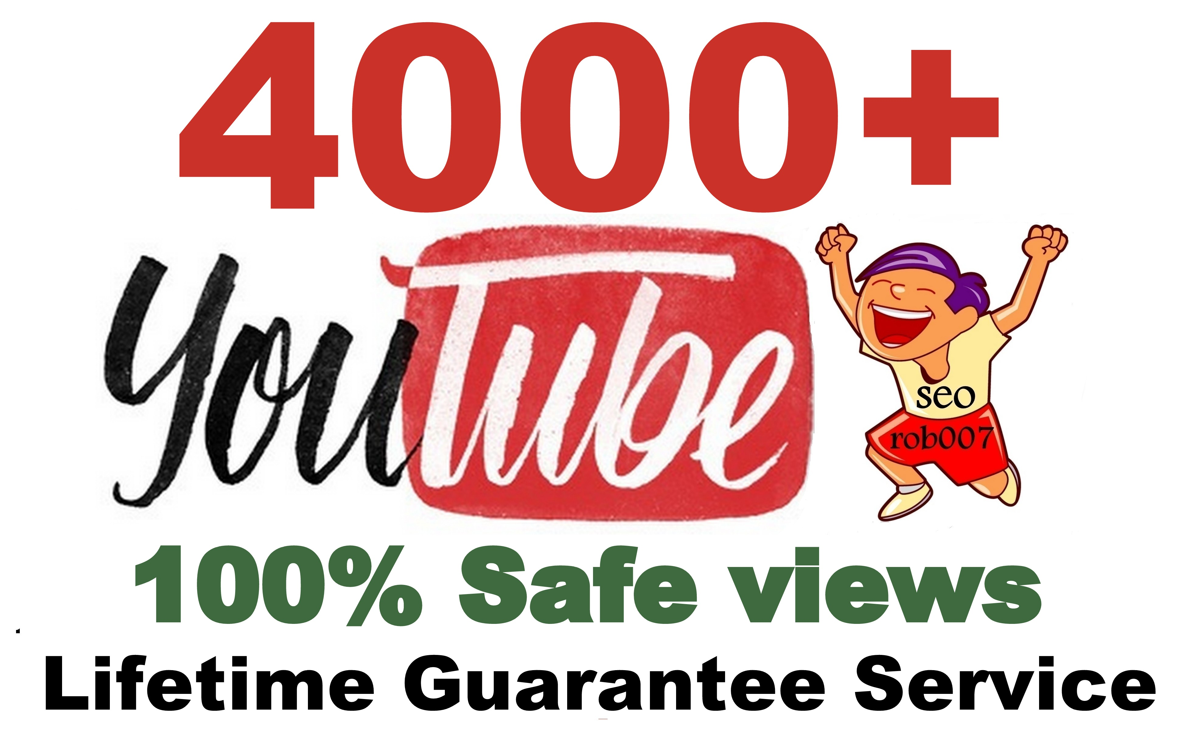 4000+ YouTube Views in 24 Hours Good Retention A+ BrandService