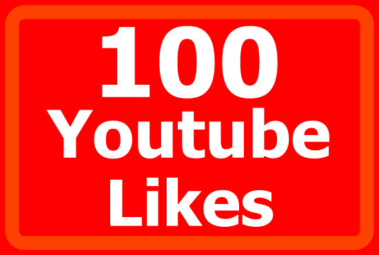100 Real YouTube Likes within 2 days